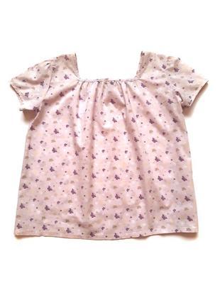 Свободная летняя хлопковая блузка bonito