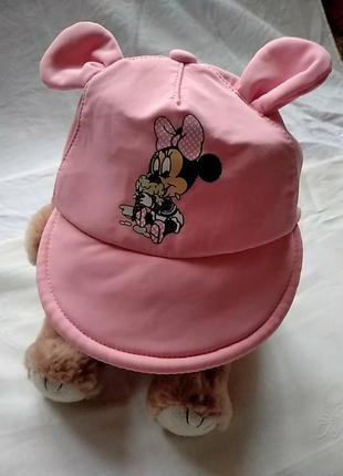 Летняя кепка для девочки disney