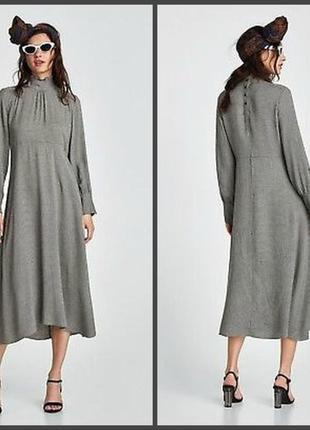 Невероятное платье асимметрия zara (s/m см.замеры)