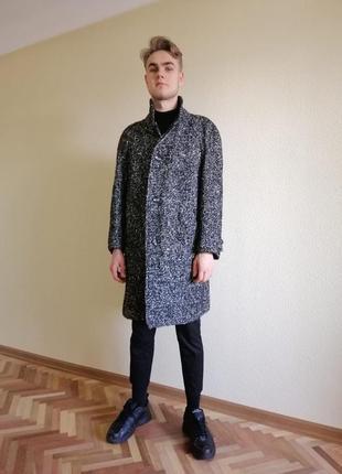 Супер стильное пальто шерсть букле