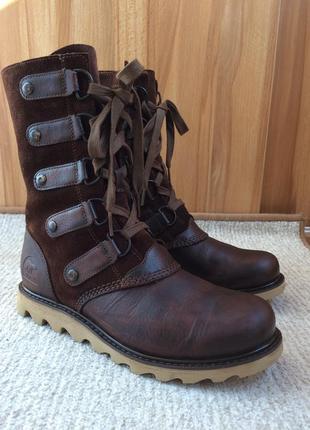 Sorel шкіряні черевики, 38,5 розмір