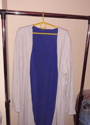 Уценка! нет пояса! двусторонний махровый халат тсм tchibo, германия. оригинал!7