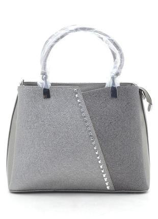 Новая серая женская сумка