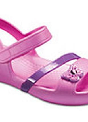 Новые сандали crocs р j1- 21см