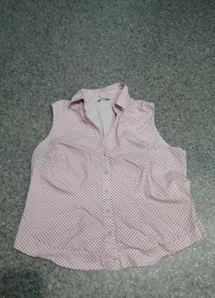 Новая рубашка в горошек