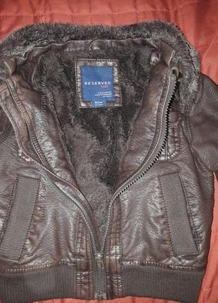 Куртка reserved на 1, 5-2 года 98 см.
