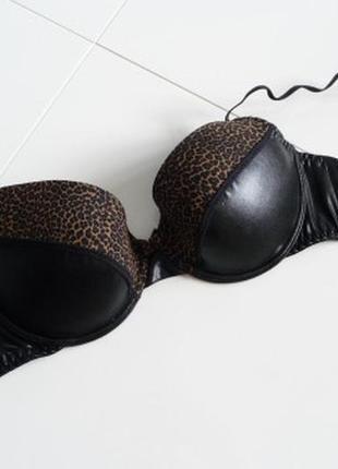 Розпродаж!.сексуальний бюстгальтер із натуральної шкіри1 фото