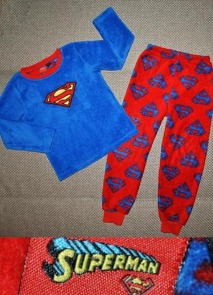 Пижама травка superman(супермен)р.122