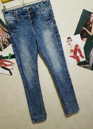 New look джинсы/высокая посадка