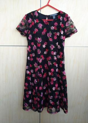 Кружевное платье primark на 9-10 лет