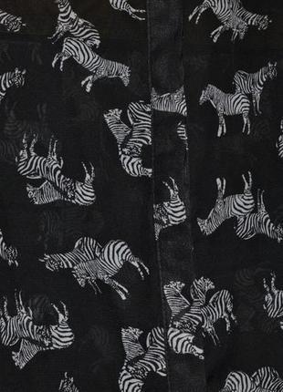 Легкая шифоновая блуза в зебрах 165