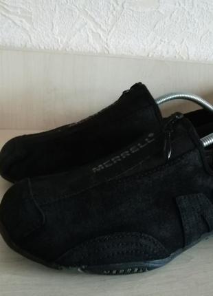 Кожаные кроссовки merrell