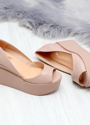 Весенние женские туфли на платформе 35,36,37,38,39,40