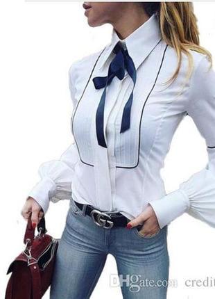 Крутая офисная рубашка next