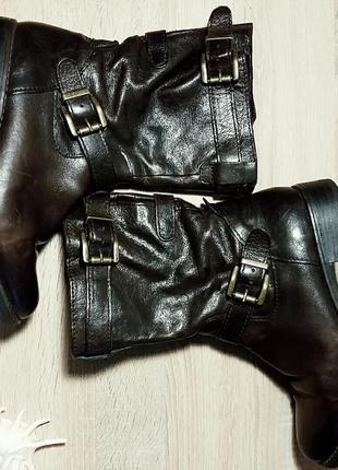 Демисезонные ботинки на широкую ножку gabor 40 размер