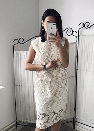 Кремовое платье / плаття / сукня