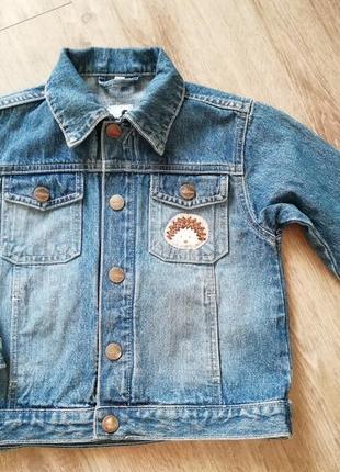Джинсовая курточка 4-5 лет