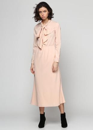 Нюдовое платье от anna yakovenko (размер 34)