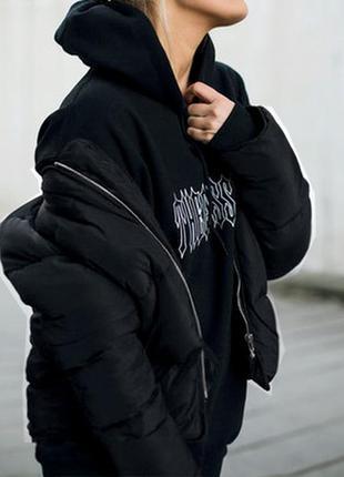 Короткая болоньевая курточка (guess)