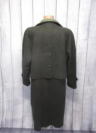 Фирменное удлиненное пальто