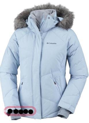 Новая женская куртка пуховик columbia lay 'd' down jacket р.46-48 (м)