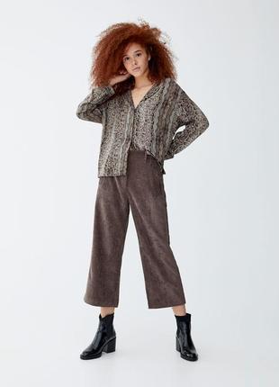 Кюлоти штани брюки pull&bear