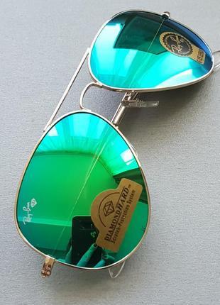 Зеркальные очки авиаторы diamond hard. бесплатная доставка