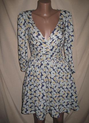 Вискозное платье зара р-рs