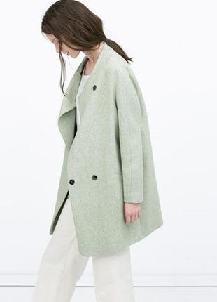 Пальто оверсайз,шерсть