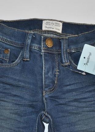 Демисезонные джинсы для мальчика impidimpi на рост 74-805 фото