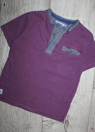 Стильная нарядная футболка бордо tu 3 года, рост 98 см.1