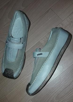 Фирменные кожаные ортопедические туфли bartek рр 34
