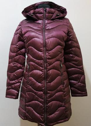 Стильная женская удлиненная курточка от amisy  38 р - новая