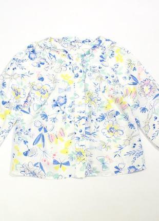 Шикарная блуза m&s, 2-3 года