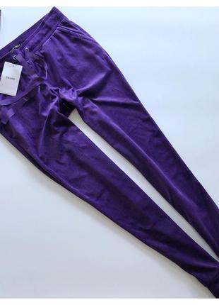 Новые бархатные спортивные штаны cropp pp m