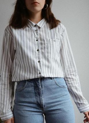 Котоновая рубашка от primark 💜