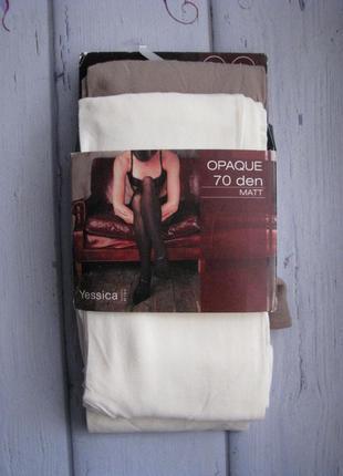 Матовые колготки c&a 70den размер л,хл, ххл