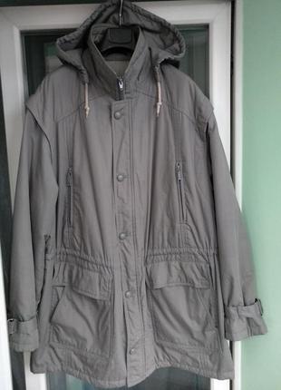 Куртка мужская немецкая р.xl (р.54-56) удлиненная, демисезонная