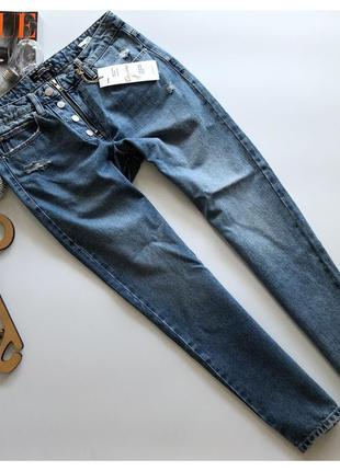 Новые джинсы mom jeans sinsay рр м
