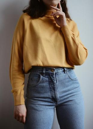 Горчичный свитер от marks&spenser 🐥