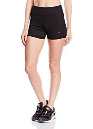 Спортивные черные шорты puma l\xl шорты для фитнеса и бега оригинал 40\42