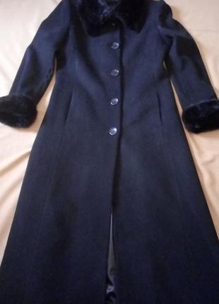 Шикарное длинное пальто, шерсть/кашемир, windsmoor