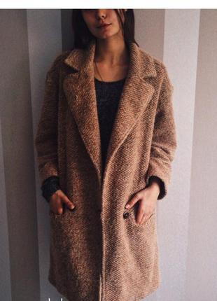 Пальто boyfriend zara