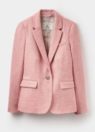 Joules, оригинал! новый брендовый жакет#блейзер#пиджак, полу шерсть.