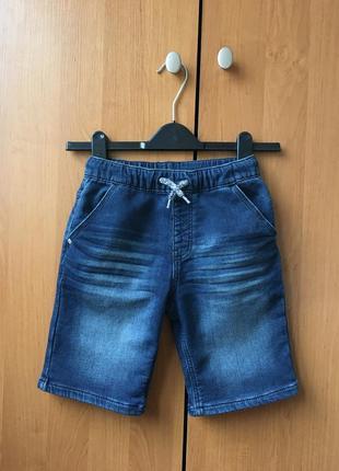 Джинсовые шорты на резинке из эластичного денима george р.7-8лет