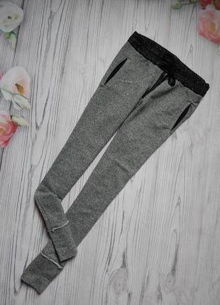 Бомбезные женские спортивные штаны от zara. размер m