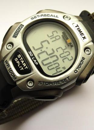 Timex ironman мужские часы оригинал 30 lap indiglo wr100m