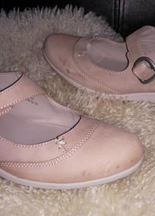 Footglove туфли беж 40 р по ст 26 см ширина 8.5 см