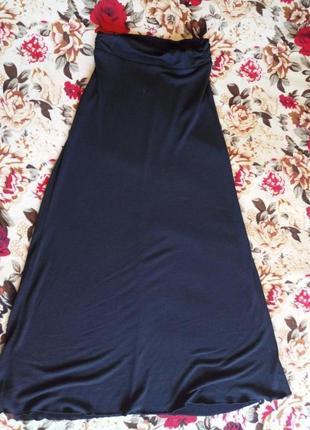 Стильная юбка в пол