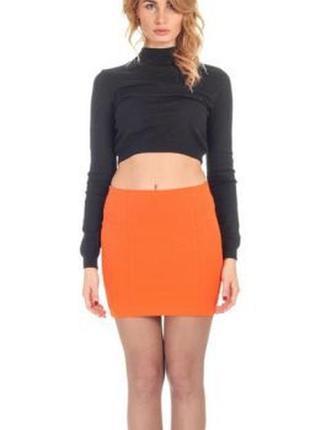 Жаркая оранжевая летняя юбка pimkie